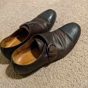 Robert Wayne supercool monkstrap shoes